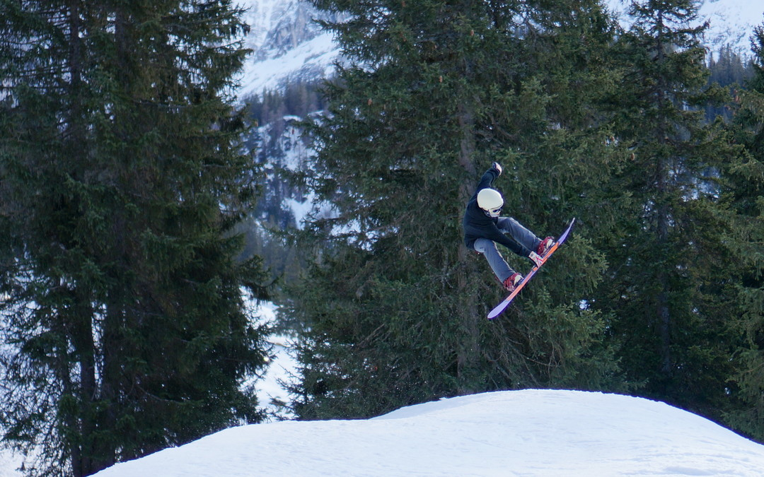 Another snowboarder